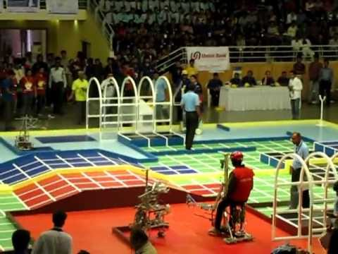 robocon India 2012 quarter final