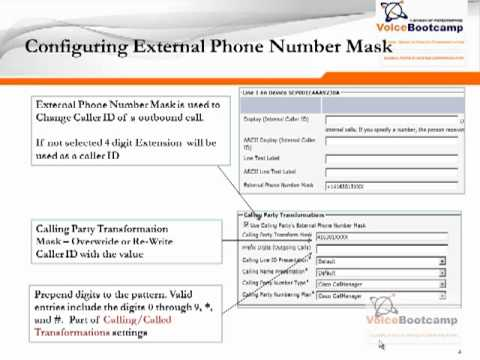 CCNP Voice Plus Module 2 Chapter 10 Dial Plan Digit Manipulation