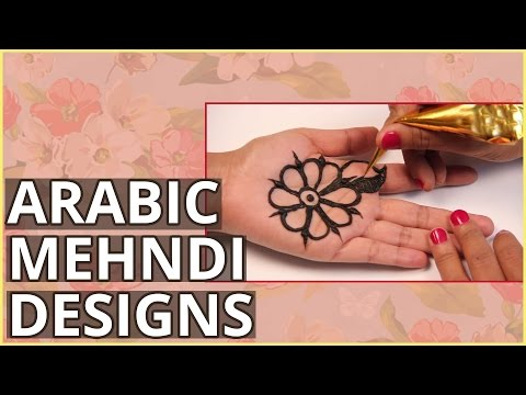 2 Simple Arabic Mehndi Design Tutorials For Beginners