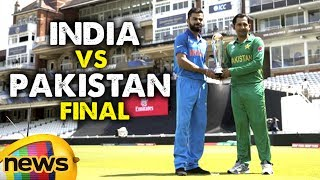 India vs Pakistan Final Champions Trophy 2017 | Virat Kohli vs Sarfaraz | Ind vs Pak Preview - MANGONEWS