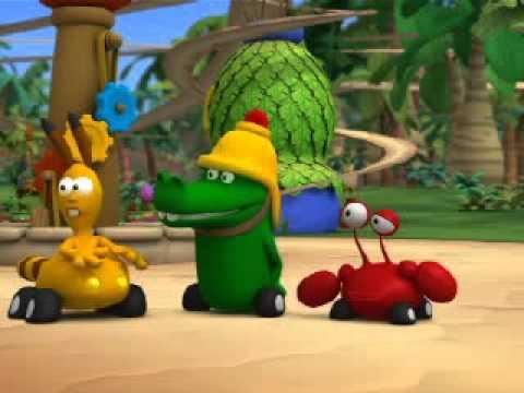 Przystanek dżungla - Pomponowe jagody. Oglądaj w Disney Junior!