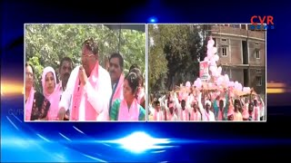 TRS Candidate Pocharam Srinivas Reddy Election Campaign in Banswada | CVR News - CVRNEWSOFFICIAL