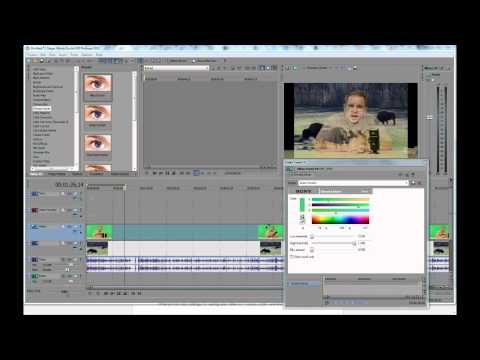 Sony Vegas Quick Tips: How to Use the Chromakeyer Effect to Change Your Video Background