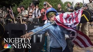 Fact-Checking Donald Trump's Claims About Charlottesville | NBC Nightly News - NBCNEWS