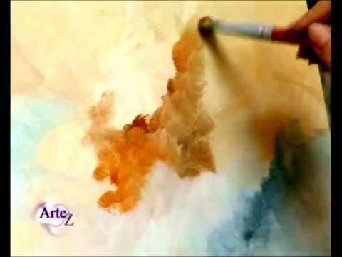 Cómo pintar cielos al óleo parte II