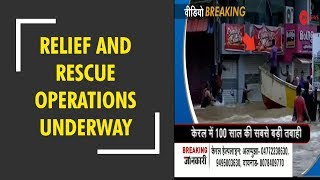 Relief and rescue operations are underway by rescue teams in Kerala - ZEENEWS