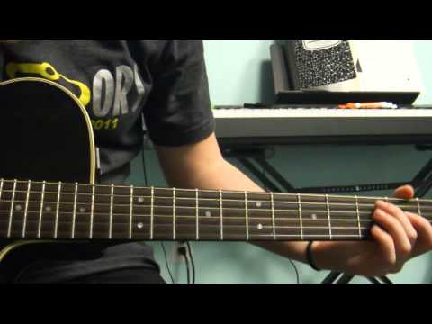 How To Play &quot;Call Me Maybe&quot; Carly Rae Jepsen on Guitar - NO CAPO