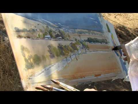 APV Films Masterclass-Watercolour Landcape-David Taylor