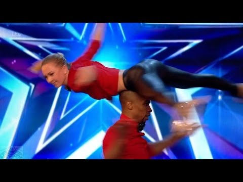 Britain's Got Talent 2017 Annette & Yannick Roller Daredevils Full Audition S11E06