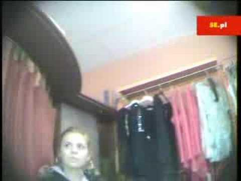 Kasia Tusk podczas pracy w butiku