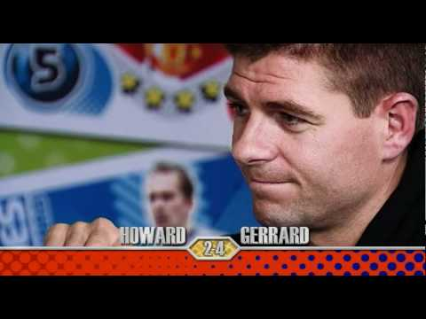 Steven Gerrard vs Tim Howard