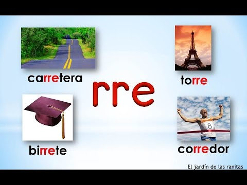 # 13 Sílabas rra rre rri rro rru - Syllables With Double R