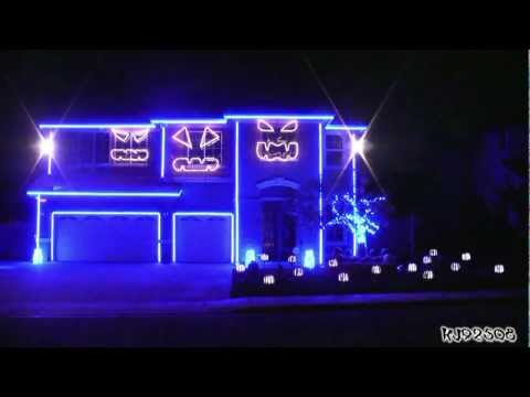 Halloween Light Show 2011 - Party Rock Anthem