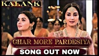 Ghar More Pardesiya Kalank Song Review; Kalank Film Song; Madhuri Dixit, Alia Bhatt - NEWSXLIVE