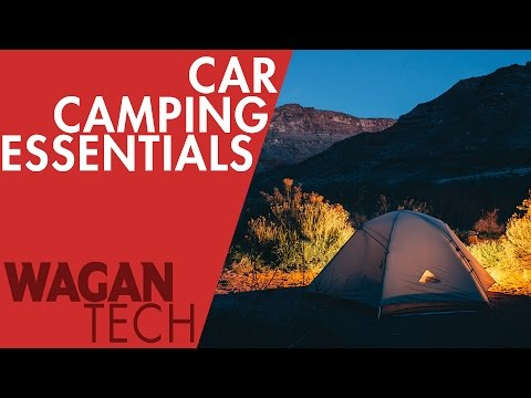 The 11 Car Camping Essentials for your next Campout!
