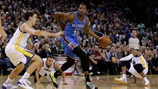 Kevin Durant's Sick Crossover On Iguodala