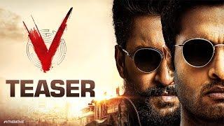 V Teaser - Nani, Sudheer Babu, Nivetha Thomas, Aditi Rao Hydari | Mohan Krishna Indraganti - DILRAJU