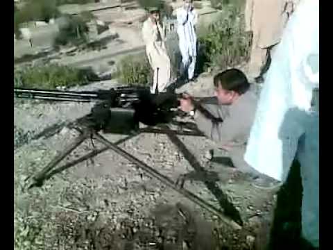 Pathan Firing Anti Aircraft Gun