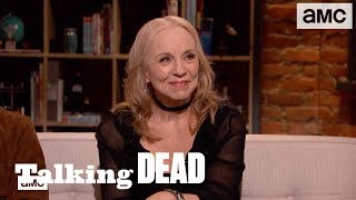 'The Use of Prosthetic Heads on Set' Highlights Ep. 915 | Talking Dead - AMC