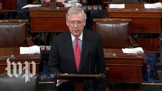 McConnell: Spending deal is 'being finalized' - WASHINGTONPOST