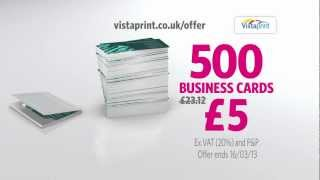 Vistaprint tv advert business cards handyman youtube reheart Image collections
