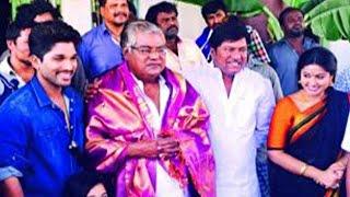 Kota Srinivasa Rao Receives PADMA SHRI | Allu Arjun - LEHRENTELUGU