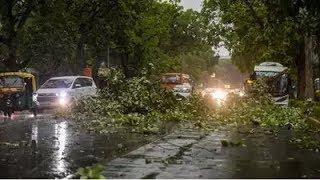 दिल्ली में तेज हवाओं के साथ बारिश, मौसम ने बदली करवट - ITVNEWSINDIA