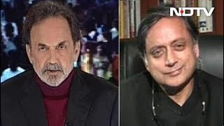 """How Long Will People Pay For Empty Packages?"" Shashi Tharoor On PM Modi - NDTV"