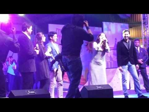 dubai global village with farhan akhtar and vidiya balan
