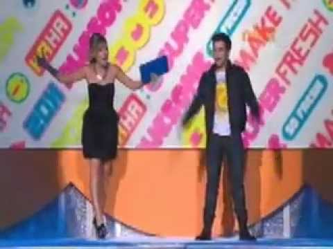 Jennette McCurdy &amp; Nathan Kress - Australian Kids Choice Awards 2011