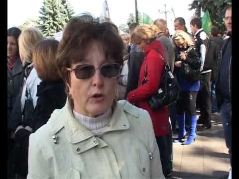 Акция протеста предпринимателей Киев 2010 (ТРК ЯТРАНЬ)
