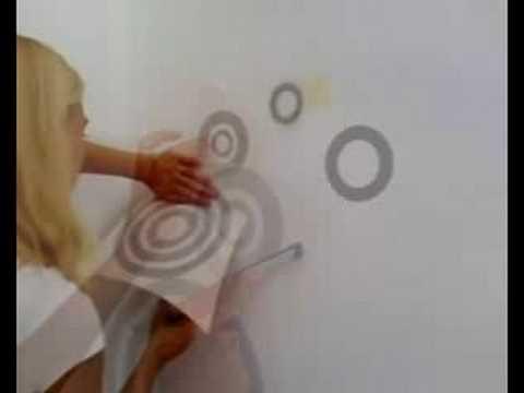 Como instalar vinilos decorativos en interior ? videotutoria