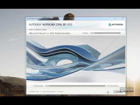 AutoCAD Civil 3D 2015 - Installeerimine