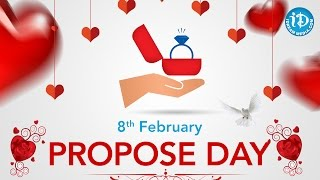 Best Proposals From Telugu Movies - Propose Day Special || Feb 8th - IDREAMMOVIES