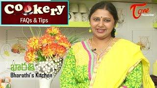 Cookery Tips & FAQs | How to Make Soft Chapati & Phulka - TELUGUONE