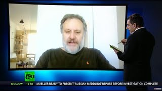 Slavoj Žižek: US establishment desperate to arrest Assange after Manning imprisoned - RUSSIATODAY