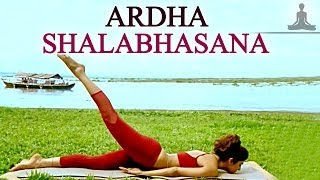 Shilpa Yoga - Ardha Shalabhasana