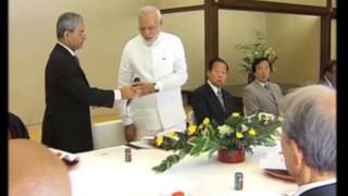 31 Aug , 2014 - Indian and Kyoto varsities, industries can work together, says PM Modi - ANIINDIAFILE