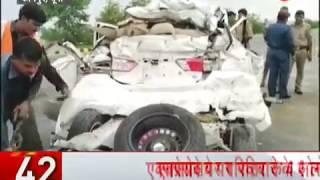 News 100: Four dead in a road accident in Kanpur expressway - ZEENEWS
