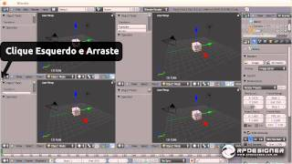 A Interface do Blender 3D
