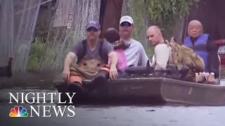 Hurricane Harvey recovery slow for many of the 900,000 Texans affected | NBC Nightly News - NBCNEWS