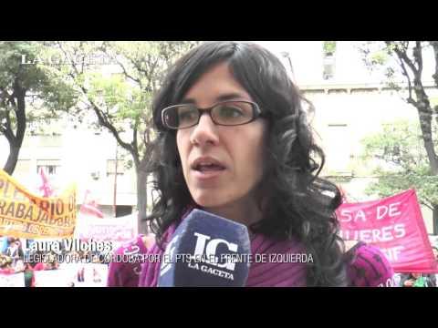 El Frente de Izquierda reclama la legalización del aborto