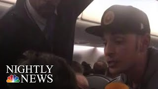 Good Samaritan On Flight Helps Young Mother Having Seizures | NBC Nightly News - NBCNEWS