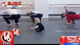 Child funny dance video - Teenmaar News - V6NEWSTELUGU
