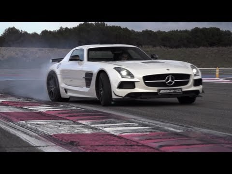 Mercedes SLS AMG Black Series: German Tyre Killer - CHRIS HARRIS ON CARS