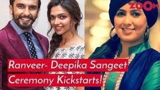 Deepika Padukone & Ranveer Singh's Sangeet Ceremony Kickstarts: All the details inside - ZOOMDEKHO