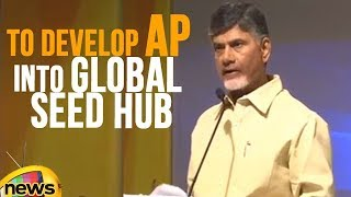 CM Naidu Visions To Develop Andhra Pradesh Into Global Seed Hub | Mango News - MANGONEWS