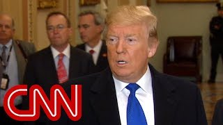 Trump: I don't think the Democrats are talking about impeachment - CNN