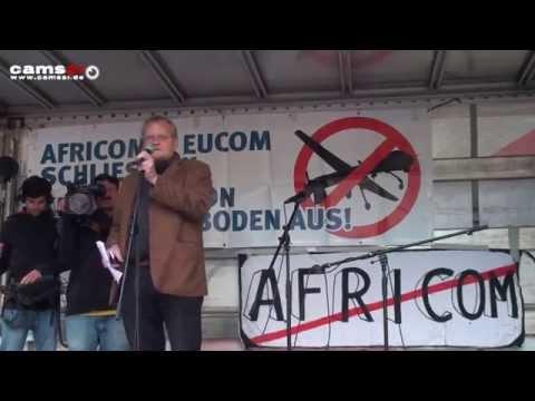 04.10.2014 #GlobalNoDrones #Stuttgart #AFRICOM