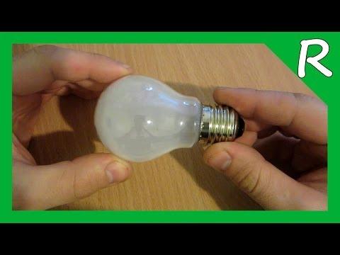 Как сделать фонарик из лампочки своими руками